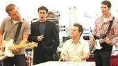 Jersey Boys Press Preview - Christian Hoff - John Lloyd Young - Daniel Reichard - J. Robert Spencer