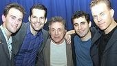 Frankie Valli at Jersey Boys - Daniel Reichard - J. Robert Spencer - Frankie Valli - John Lloyd Young - Christian Hoff