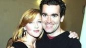 White Christmas Press Event 2005 - Anastasia Barzee - Brian d'Arcy James