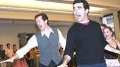 White Christmas Press Event 2005 - Jeffry Denman - Brian d'Arcy James (stage)