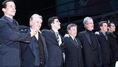 Jersey Boys Opening - Curtain Call - Christian Hoff - Tommy DeVito - John Lloyd Young - Frankie Valli - Bob Gaudio - Daniel Reichard - J. Robert Spencer