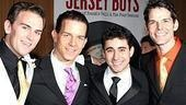 Jersey Boys Opening - Daniel Reichard - Christian Hoff - John Lloyd Young - J. Robert Spencer
