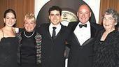 Jersey Boys Opening - John Lloyd Young - family