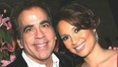 Richard Jay-Alexander, who directed the concert, and Lea Salonga.