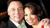 Musical director Kevin Stites and Lea Salonga.
