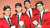 Jersey Boys at NYSE - Christian Hoff - Daniel Reichard - J. Robert Spencer - John Lloyd Young