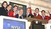 Jersey Boys at NYSE - group