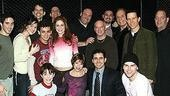 James Gandolfini at Jersey Boys - Jame Gandolfini and cast