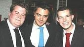 A trilogy of History Boys!James Corden, Dominic Cooper and Russell Tovey.