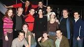 Catherine Zeta-Jones and Michael Douglas Visit Jersey Boys - Group Shot