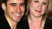 Photo Op - Spring Awakening Broadway opening - John Lloyd Young - Allison Franck