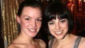 Photo Op - Spring Awakening Broadway opening - Jennifer Damiano - Krysta Rodriguez