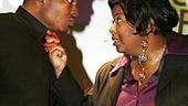 Photo Op - Color Purple documentary press screening - Chaz Lamar Shepherd - NaTasha Yvette Williams (singing)