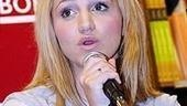 Photo Op - Legally Blonde at Borders Books - Annaleigh Ashford