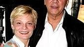 First-time nominee Martha Plimpton (Featured Actress for Coast of Utopia) with two-time Tony winner Frank Langella (Best Actor nommed for Frost/Nixon).