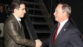 Photo Op - Mayor Bloomberg at Jersey Boys - John Lloyd Young - Michael Bloomberg - 1