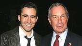 Photo Op - Mayor Bloomberg at Jersey Boys - Michael Bloomberg - John Lloyd Young