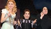 Photo Op - Young Frankenstein opens in Seattle - cc -Sutton Foster - Andrea Martin - Christopher Fitzgerald