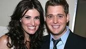 Photo Op - Idina Menzel at Madison Square Garden - Idina Menzel - Michael Buble