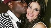 Photo Op - Idina Menzel at Madison Square Garden - Taye Diggs - Idina Menzel - 2