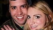 Photo op - Wicked 4th anniversary party - Brad Bass - Annaleigh Ashford