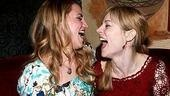 Photo op - Wicked 4th anniversary party - Annaleigh Ashford - Lisa Brescia (laughing)