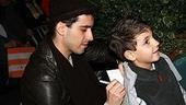 Photo Op - John Lloyd Young Leaves Jersey Boys -  John Lloyd Young (with boy)