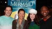 Photo Op - Vanessa Williams at The Little Mermaid - Sean Palmer - Vanessa Williams - Sierra Boggess - Tituss Burgess