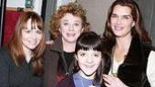 Brooke Shields at August - Brooke Shields - Rondi Reed - Madeleine Martin - Sally Murphy