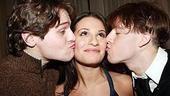 Lea Michele at Feinstein's - Lea Michele - Blake Bashoff - Jonathan Groff