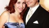 Broadway In the Heights Opening - Andrea Burns - husband Peter Flynn