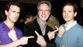 Jersey Boys Celebrate 1000 - Daniel Reichard - Bob Gaudio - Sebastian Arcelus (silly faces)