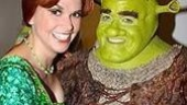 Shrek Opens in Seattle - Sutton Foster - Brian d'Arcy James (in costume)