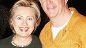 Hillary Clinton at Billy Elliot – Hillary Clinton – Gregory Jbara