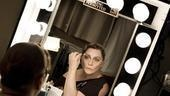 Elizabeth Ashley backstage at August: Osage County – brows