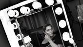 Elizabeth Ashley backstage at August: Osage County – cheeks