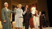 Blithe Spirit Opening Night - curtain call cast