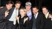 Happiness Opening Night – Hunter Foster – Sebastian Arcelus – Susan Stroman – James Moye – Miguel Cervantes – Robert Petkoff