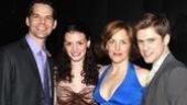 Next to Normal Opening Night – J. Robert Spencer - Jennifer Damiano - Alice Ripley – Aaron Tveit
