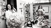 Megan Hilty backstage – Patricia Resnick