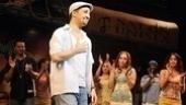 In the Heights Closing Night –Christopher Jackson - Lin-Manuel Miranda – Arielle Jacobs