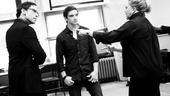 High rehearsal – Stephen Kunken – Evan Jonigkeit – Kathleen Turner