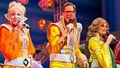 Mamma Mia - 5,000th Performance - OP - 3/14 - Paul DeBoy - Felicia Finley - Alan Campbell - Corinne Melancon - John Hemphill - Lauren Cohn
