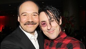 Danny Burstein and Alan Cumming kick back at the party.