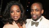 After Midnight - backstage - OP - 5/14 - Oprah Winfrey - Dule Hill