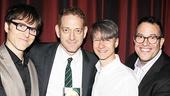 Drama Desk Awards - Op - 5/14 - Stephen Trask - David Binder - John Cameron Mitchell - Michael Mayer