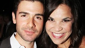 Broadway alums Adam Kantor and Lindsay Mendez.