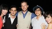 Public Theater Gala - 2014 - OP - 6/14 - Nikka Graff Lanzarone - Wes Taylor - Clyborne Elder - Gideon Glick - Krysta Rodriguez