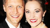 Cinderella favorite Laura Osnes has a date night with her husband Nathan Johnson.