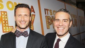 It's Only A Play - Opening - 10/14 - John Hill - Andy Cohen